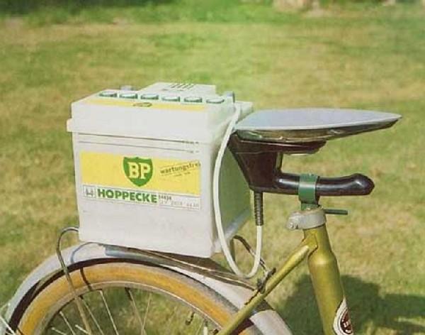 Bike seat iron