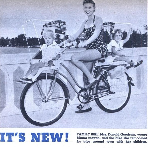 Family bike from 1955