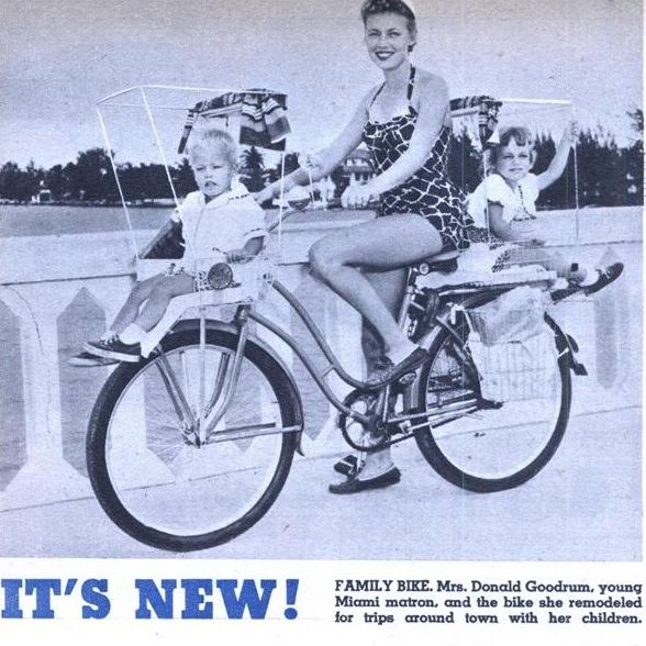 Family bike from 1955
