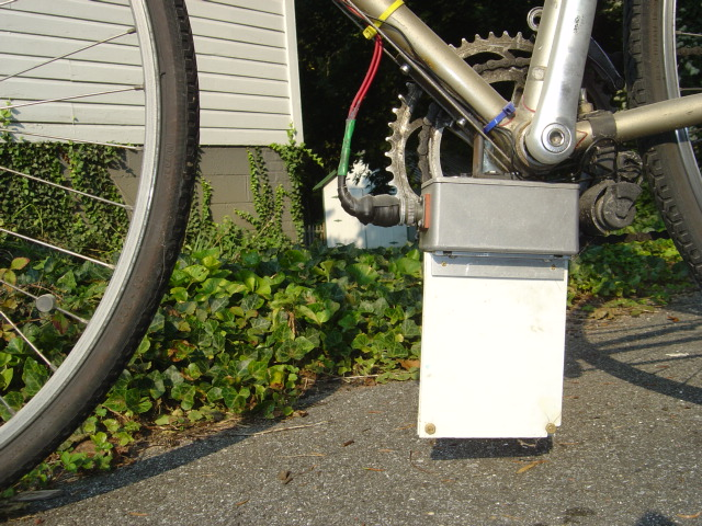 Bike traffic sensor device