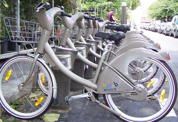 Velib bike